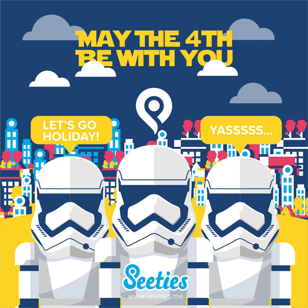 MAY THE 4TH BE WITH YOU – WITH SEETIES